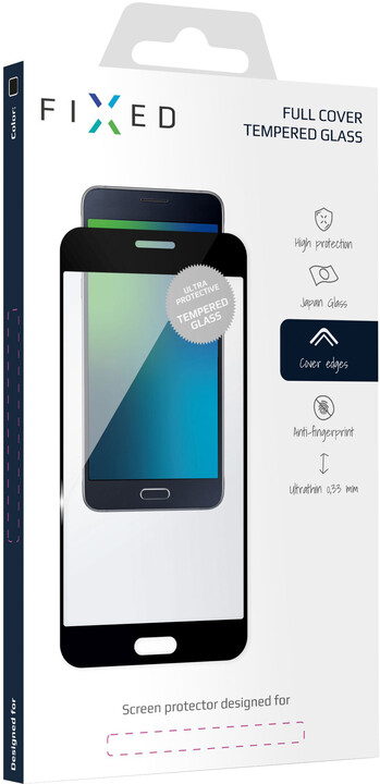 FIXED Ochranné tvrzené sklo Full-Cover pro Nokia 6.1/6 (2018), černá