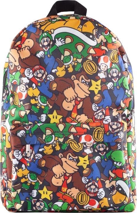 Batoh Super Mario - Characters All Over