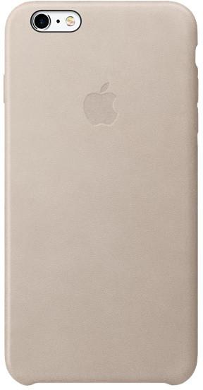 Apple iPhone 6s Plus Leather Case, světle šedá