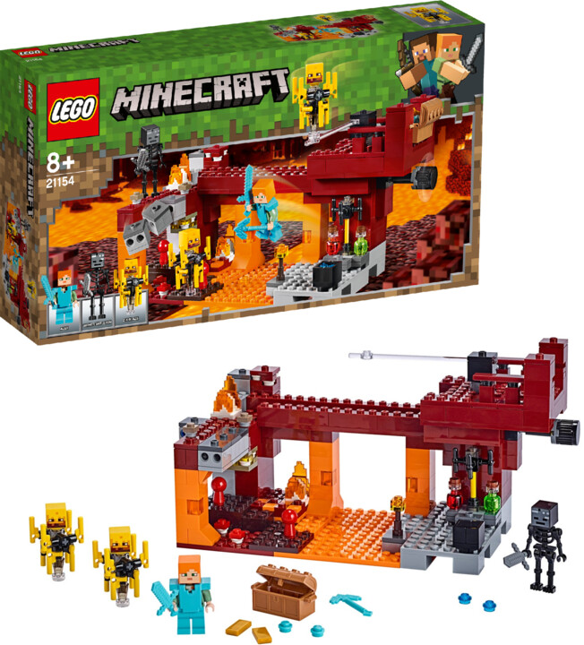LEGO® Minecraft™ 21154 Most ohniváků