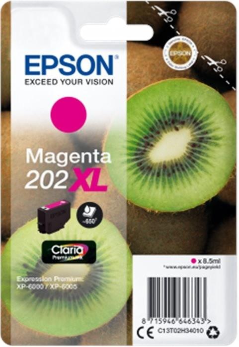Epson C13T02H34010, 202XL claria magenta