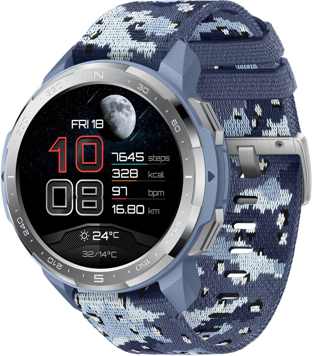 Honor Watch GS Pro, Camo Blue