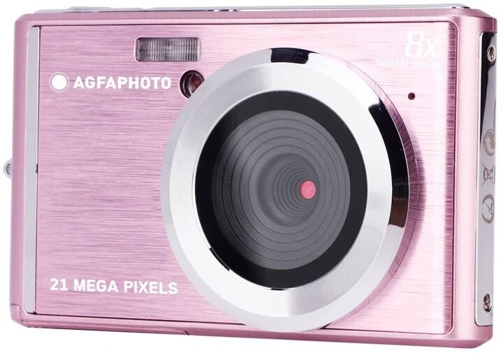 AGFA Compact DC 5200, růžová