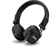 Marshall Major IV Bluetooth, černá O2 TV Sport Pack na 3 měsíce (max. 1x na objednávku)
