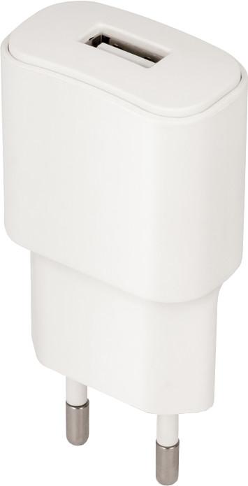 Forever cestovní dobíječ USB 1A TC-01 s lightning kabelem, bílá