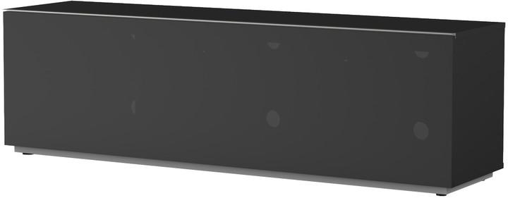 Meliconi 500409 TV stolek, textilní 16040F, černá