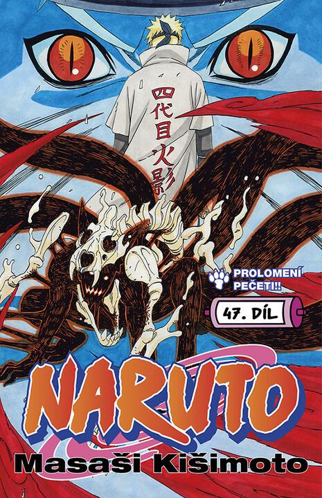 Komiks Naruto: Prolomení pečeti!!, 47.díl, manga