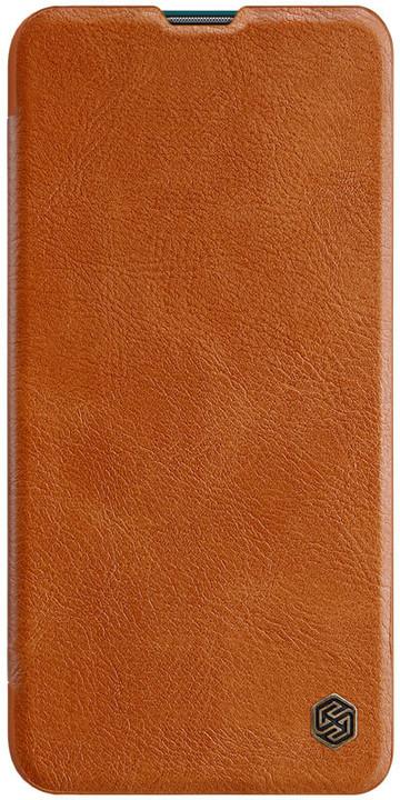 Nillkin Qin Book pouzdro pro Xiaomi Mi A3, hnědá