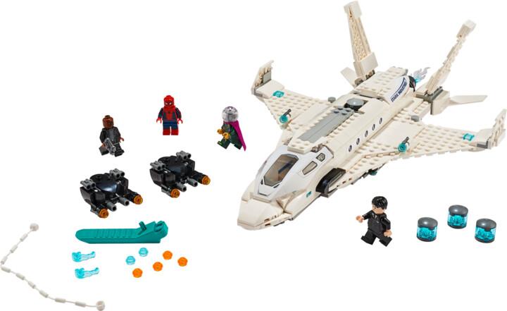 LEGO Marvel Super Heroes 76130 Tryskáč Tonyho Starka a útok dronu