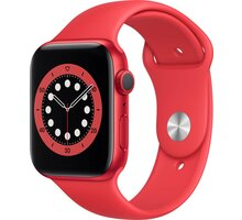 Apple Watch Series 6, 44mm, PRODUCT(RED), PRODUCT(RED) Sport Band - M00M3HC/A
