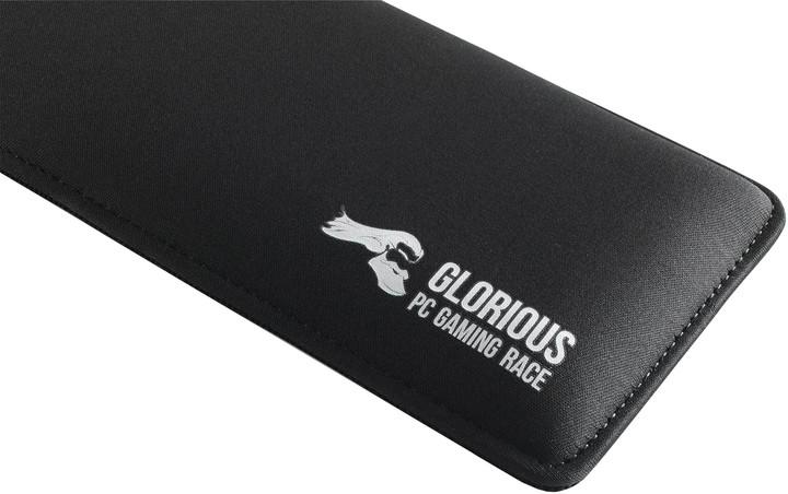 Glorious Padded Keyboard Wrist Rest Tenkeyless Slim, černá