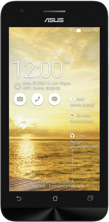 ASUS ZenFone ZC451CG - 8GB, zlatá