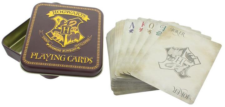 Hrací karty Harry Potter - Hogwarts