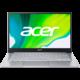 Acer Swift 3 (SF314-59), stříbrná Záruka 3 roky + Garance bleskového servisu s Acerem + Servisní pohotovost – vylepšený servis PC a NTB ZDARMA + 500 Kč sleva na příští nákup nad 4 999 Kč (1× na objednávku)