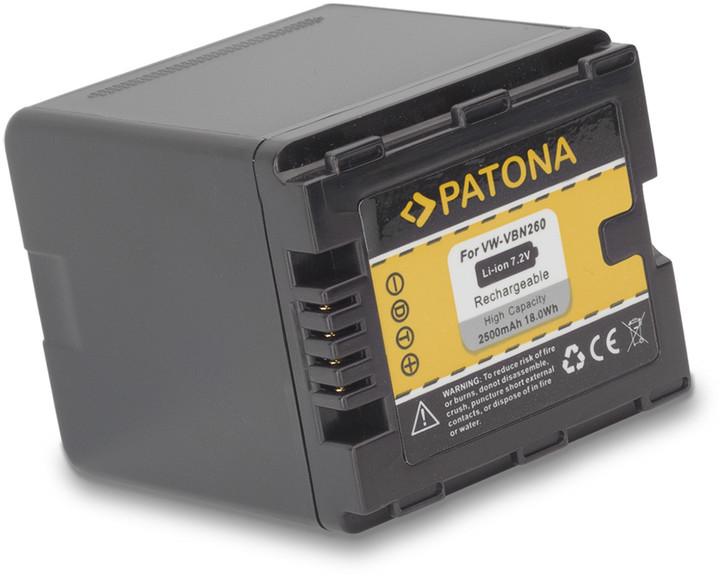 Patona baterie pro Panasonic VBN260 2500mAh