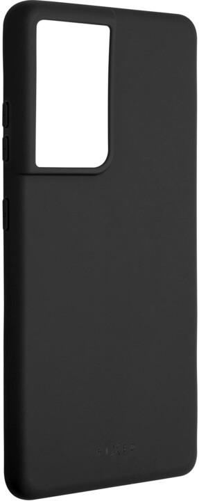 FIXED pogumovaný kryt Story pro Samsung Galaxy S21 Ultra, černá