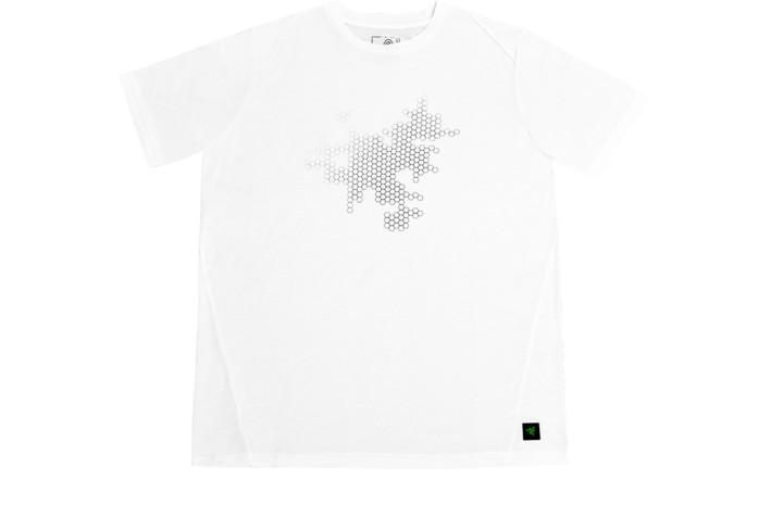 Tričko Razer Elite Covert, bílé (XL)
