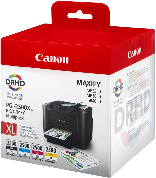 Canon PGI-2500XL BK/C/M/Y, Multipack