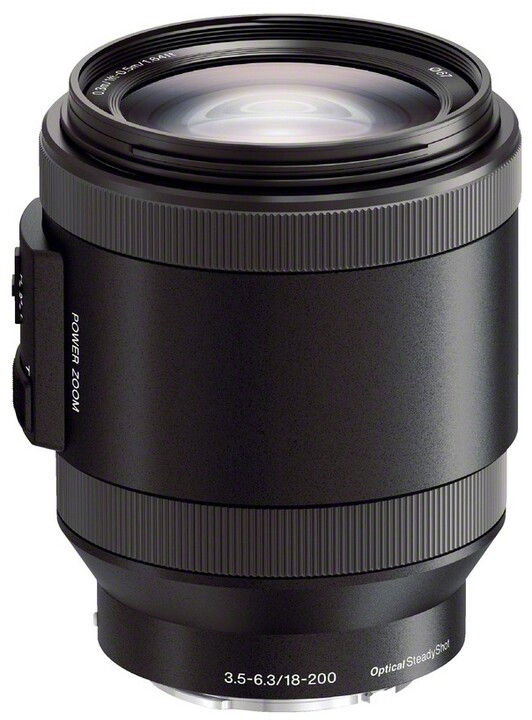 Sony E PZ 18–200mm f/3.5–6.3 OSS