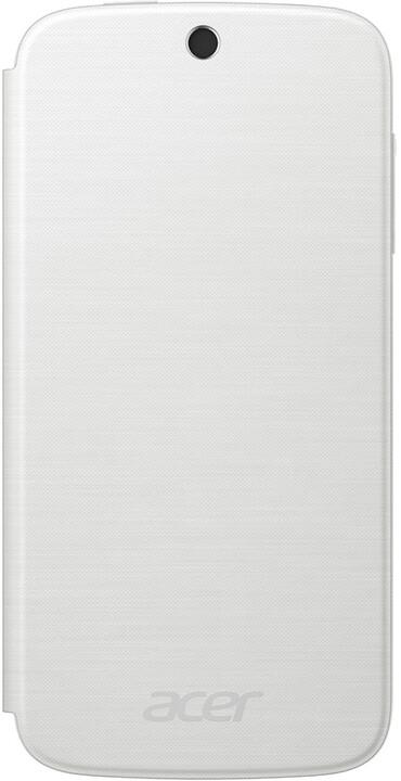 Acer Z330 flipové pouzdro, bílá