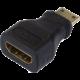 PremiumCord Adapter HDMI Typ A samice - HDMI Typ C samec