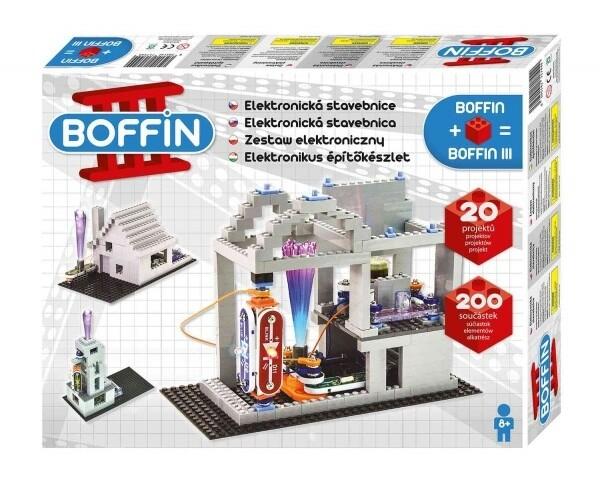 Stavebnice Boffin III BRICKS, elektronická
