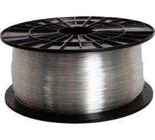 Filament PM tisková struna (filament), PETG, 1,75mm, 1kg, transparentní - F175PETG_TR