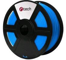 C-TECH tisková struna (filament), PETG, 1,75mm, 1kg, modrá - 3DF-PETG1.75-B