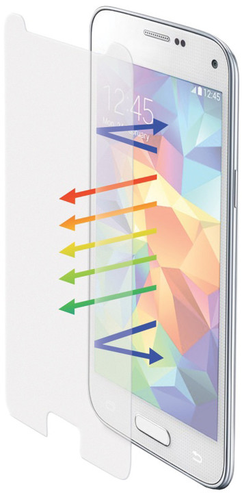 CELLY Glass ochranné tvrzené sklo pro Galaxy S5/S5 Neo, matné