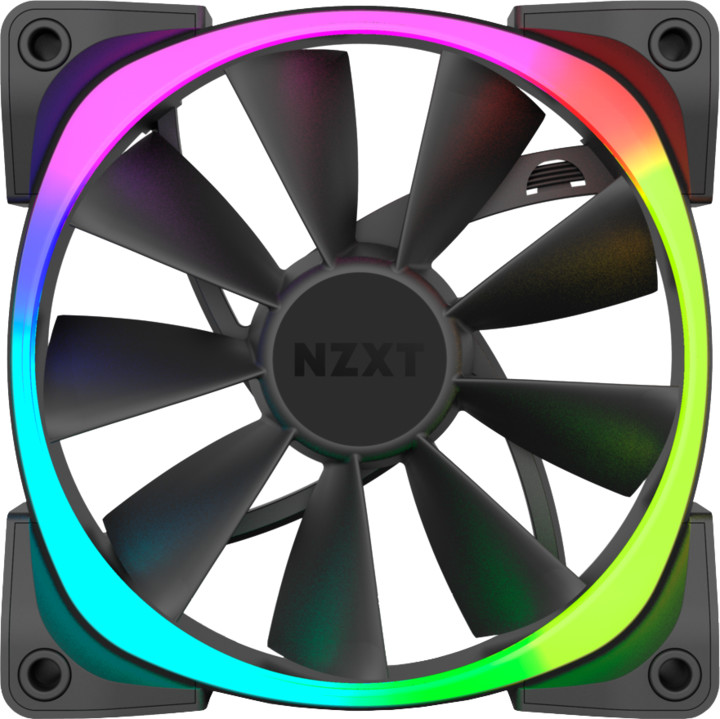 NZXT Aer RGB Series RF-AR140-B1, 140mm ventilátor