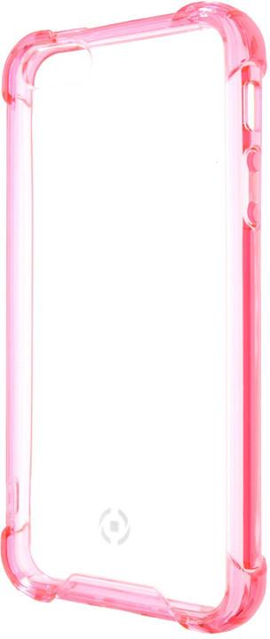 CELLY Armor zadní kryt pro Apple iPhone SE, růžový
