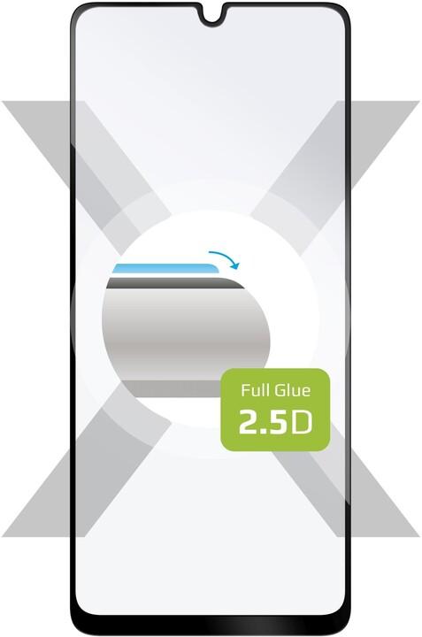 FIXED ochranné tvrzené sklo pro Samsung Galaxy A32 Full-Cover, černá