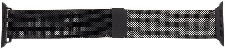 Tactical 339 kovový řemínek Loop pro Apple Watch 1/2/3/4/5/6/SE, magnetický, 42/44mm, černá