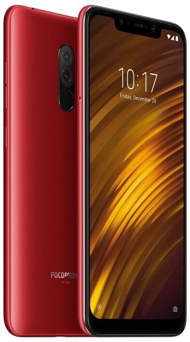 Xiaomi Pocophone F1, 6GB/64GB, červená