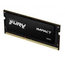 Kingston Fury Impact 8GB DDR3L 1600 CL9 SO-DIMM CL 9 - KF316LS9IB/8