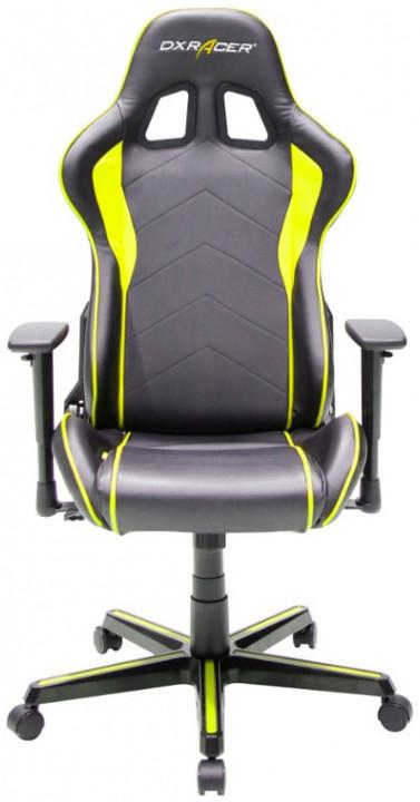 DXRacer Formula OH/FH08/NY, černá/žlutá