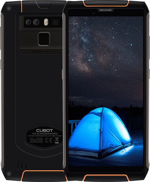 CUBOT KingKong 3, 4GB/64GB, černá