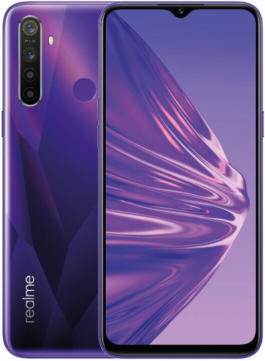 realme 5, 4GB/128GB,Crystal Purple