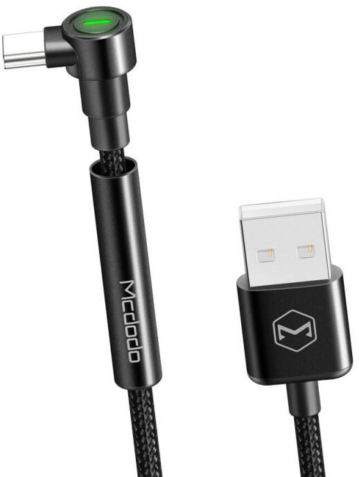 Mcdodo Bracket USB- C kabel se stojánkem 2m, černá