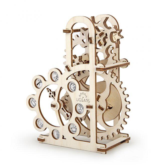 UGEARS stavebnice - Dynamometr, dřevěná, mechanická