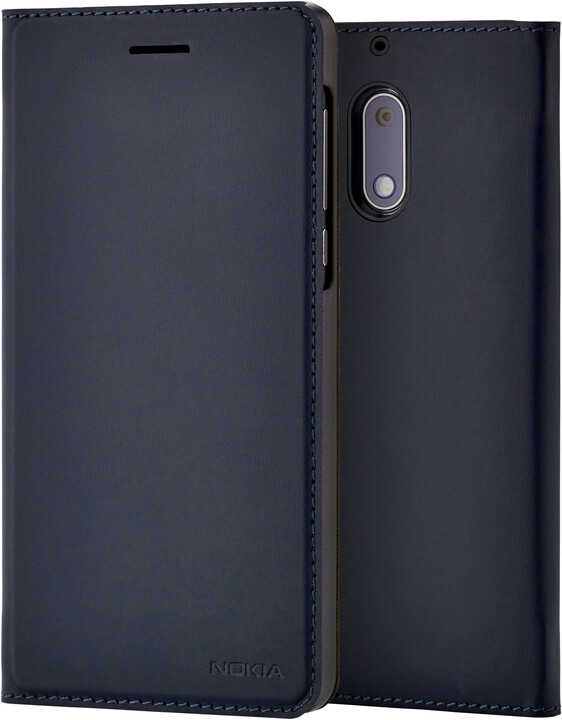 Nokia Slim Flip Case CP-301 for Nokia 6, modrá