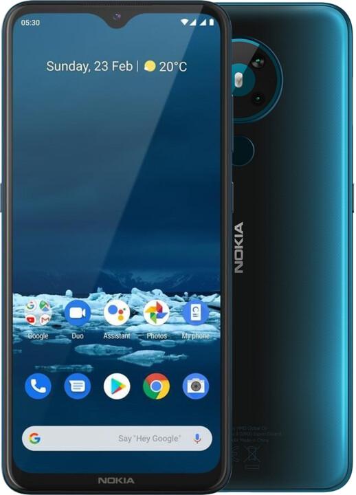 Nokia 5.3, 4GB/64GB, Dual SIM, Cyan