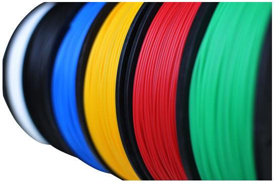Delta Micro Factory tisková struna ABS plast, 500 g, červená