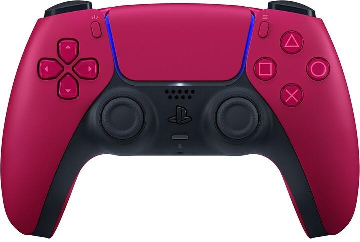 Sony PS5 Bezdrátový ovladač DualSense Cosmic Red