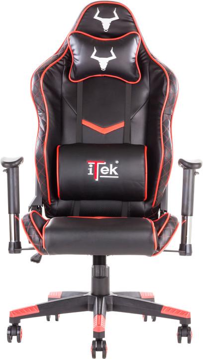 iTek TAURUS E1, černá/červená
