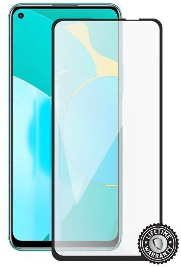Screenshield ochrana displeje Tempered Glass pro Honor 30s, full cover, černá