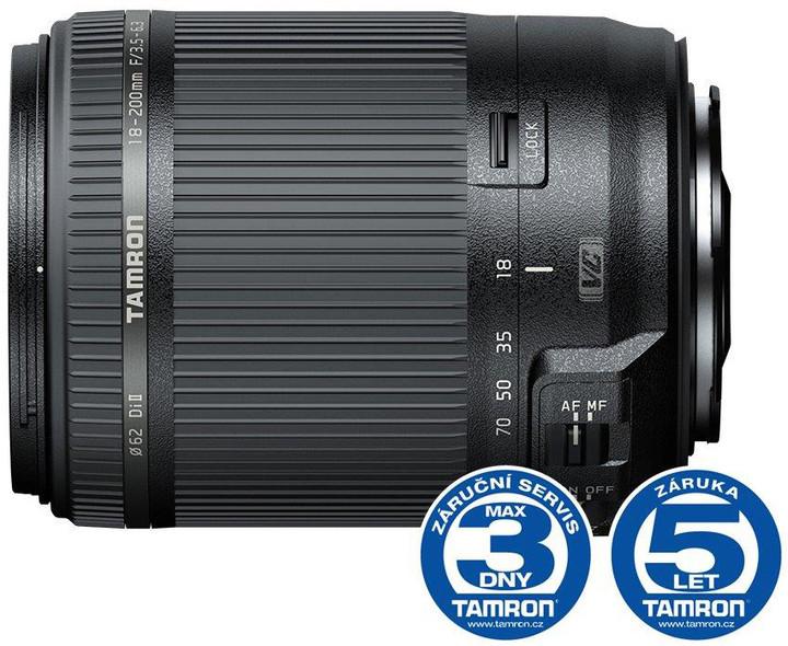 TAMRON AF 18-200mm F/3.5-6.3 Di II VC pro Canon