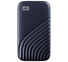 Western Digital My Passport - 500GB, modrá - WDBAGF5000ABL-WESN