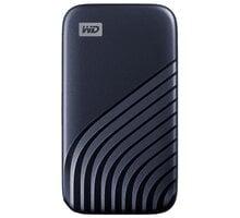 Western Digital My Passport - 1TB, modrá - WDBAGF0010BBL-WESN