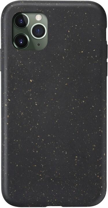 CellularLine kompostovatelný eko kryt Become pro Apple iPhone 11 Pro, černá